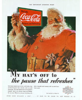 Architecture blog, Coca cola Santa