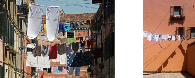 architecture blog, laundry in the streets