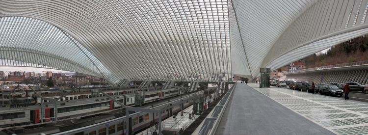 Architecture blog, Guillemins station
