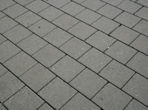 Concrete tiles, any sidewalk in the Netherlands