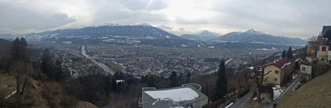 Panorama of Innsbruck. Photo: RM